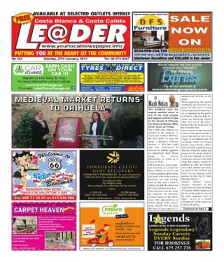 This week´s front page