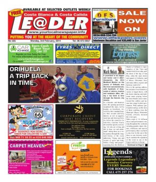 ISSUE 505 OF THE LEADER IS AVAILABLE NOW